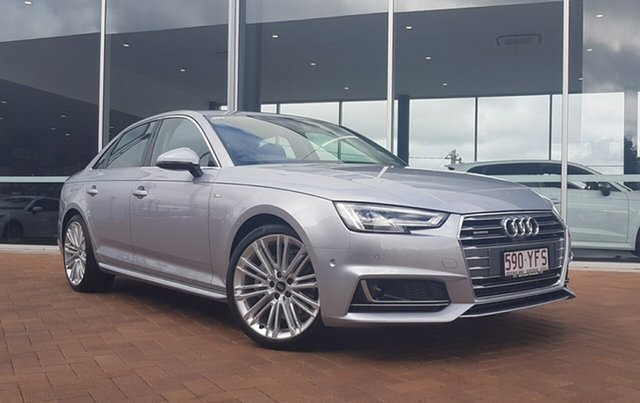 Discounted Demonstrator, Demo, Near New Audi A4 S Line S tronic quattro, Toowoomba, 2018 Audi A4 S Line S tronic quattro Sedan