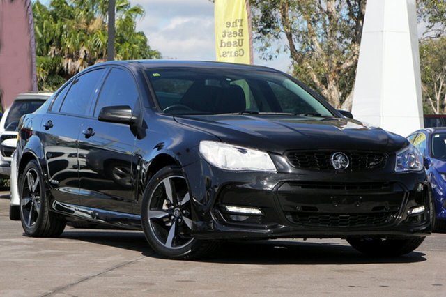 Used Holden Commodore SV6 Black, Caloundra, 2016 Holden Commodore SV6 Black Sedan