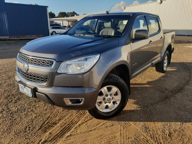 Used Holden Colorado LT (4x4), Wangaratta, 2014 Holden Colorado LT (4x4) Crew Cab Pickup