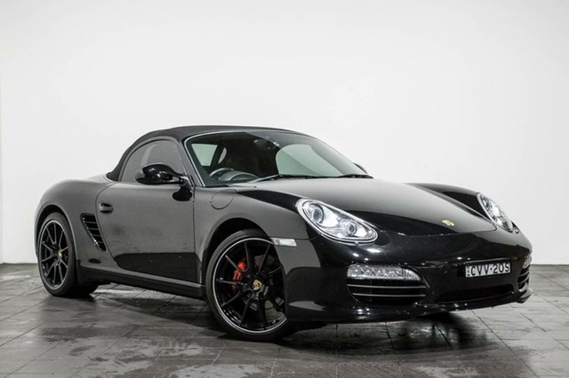 Used Porsche Boxster S PDK Black Edition, Rozelle, 2011 Porsche Boxster S PDK Black Edition Convertible