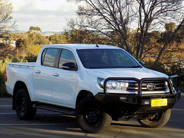 Used Toyota Hilux SR Double Cab, 2015 Toyota Hilux SR Double Cab Utility