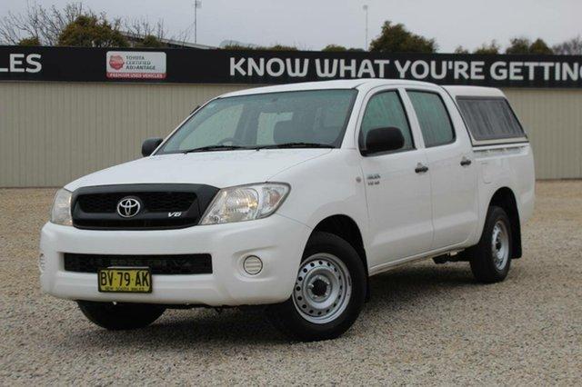 Used Toyota Hilux SR, Bathurst, 2009 Toyota Hilux SR Dual Cab Pick-up