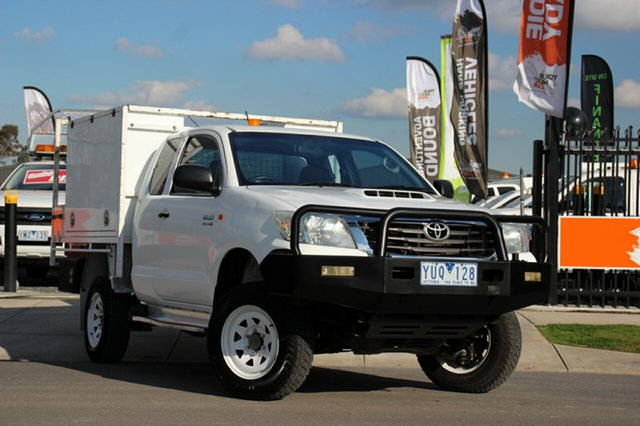 Used Toyota Hilux SR Xtra Cab, Officer, 2011 Toyota Hilux SR Xtra Cab Cab Chassis