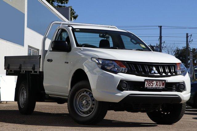 Demonstrator, Demo, Near New Mitsubishi Triton, Bowen Hills, 2017 Mitsubishi Triton Utility