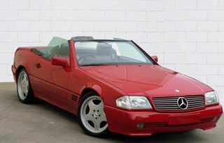 1992 Mercedes-Benz 500 SL Convertible.