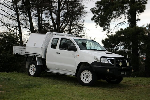 Used Toyota Hilux SR Xtra Cab, Officer, 2012 Toyota Hilux SR Xtra Cab Cab Chassis