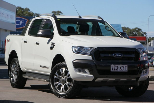 Discounted Used Ford Ranger Wildtrak Double Cab, Caloundra, 2015 Ford Ranger Wildtrak Double Cab Utility