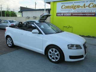Used Audi A3 Attraction S tronic, Bundall, 2008 Audi A3 Attraction S tronic 8P Convertible