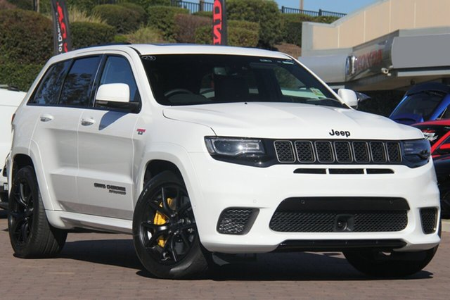 Discounted Demonstrator, Demo, Near New Jeep Grand Cherokee Trackhawk, Southport, 2018 Jeep Grand Cherokee Trackhawk SUV