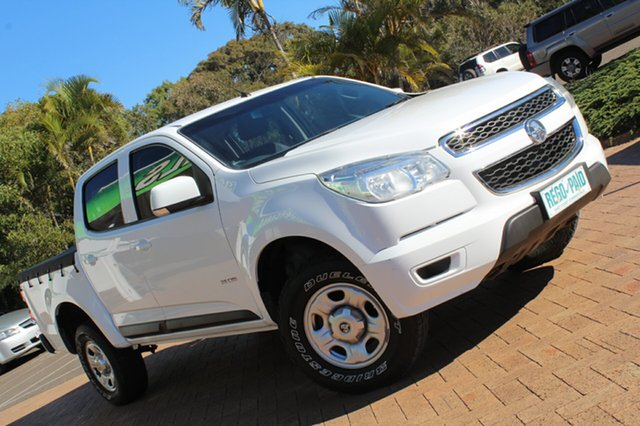 Used Holden Colorado LX Crew Cab, Bokarina, 2013 Holden Colorado LX Crew Cab RG MY13 Utility