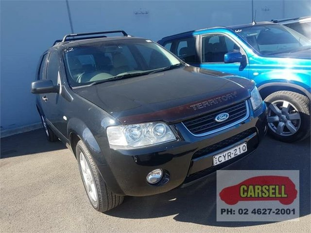 Used Ford Territory TS, Campbelltown, 2006 Ford Territory TS Wagon