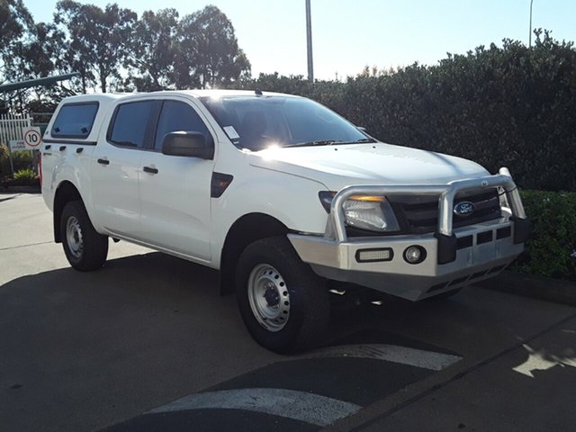 Used Ford Ranger XL Double Cab 4x2 Hi-Rider, Acacia Ridge, 2012 Ford Ranger XL Double Cab 4x2 Hi-Rider PX Utility