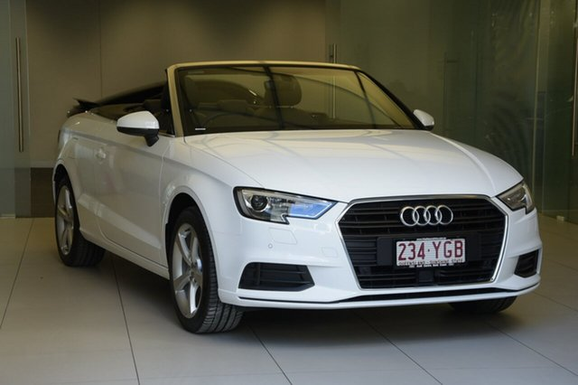 Demonstrator, Demo, Near New Audi A3 S tronic, Southport, 2018 Audi A3 S tronic Cabriolet