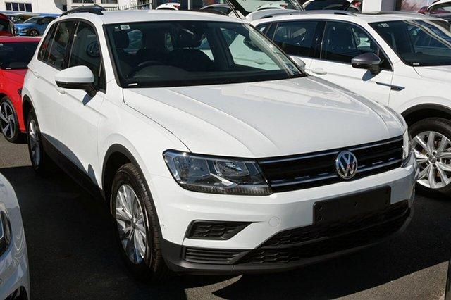 Demonstrator, Demo, Near New Volkswagen Tiguan 110TSI DSG 2WD Trendline, Southport, 2018 Volkswagen Tiguan 110TSI DSG 2WD Trendline Wagon