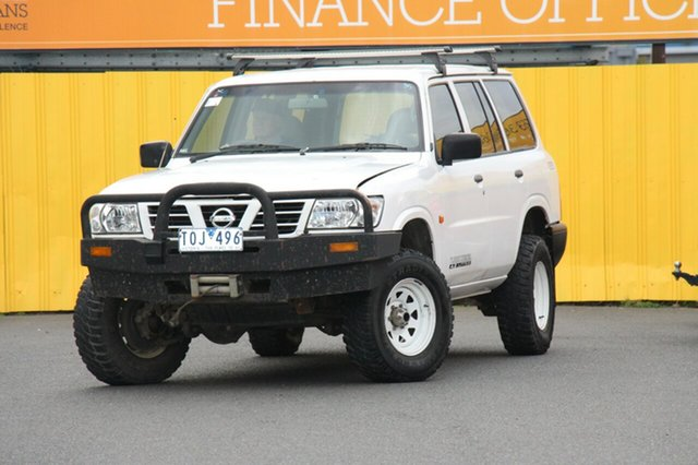 Discounted Used Nissan Patrol DX, Cheltenham, 2001 Nissan Patrol DX Wagon