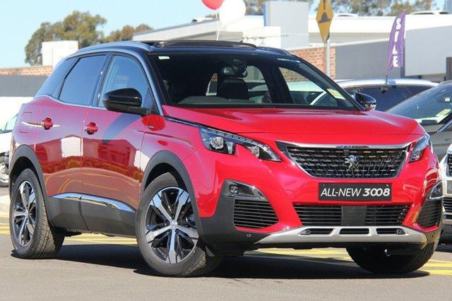 New Peugeot 3008 GT Line SUV, Bowen Hills, 2019 Peugeot 3008 GT Line SUV Hatchback