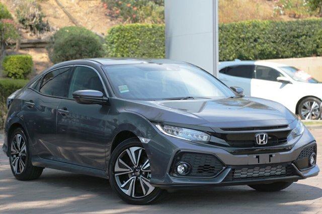 Discounted Demonstrator, Demo, Near New Honda Civic VTI-LX, Southport, 2018 Honda Civic VTI-LX Hatchback