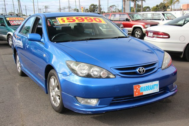 Used Toyota Camry with RWC & REG, Cheltenham, 2005 Toyota Camry with RWC & REG Sedan