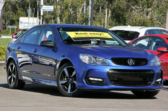 Used Holden Commodore SV6 Black, Caloundra, 2016 Holden Commodore SV6 Black Sedan