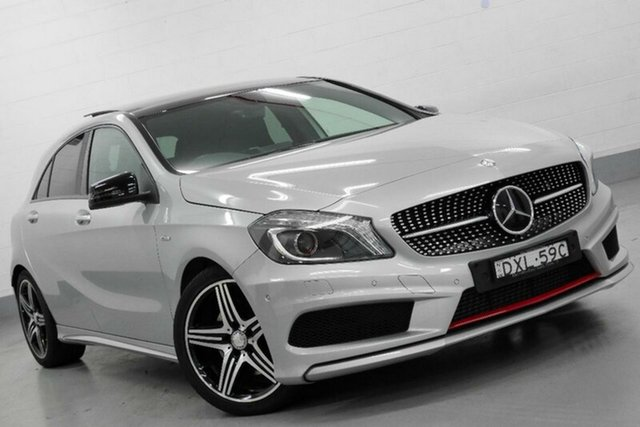 Used Mercedes-Benz A250 Sport D-CT, Chatswood, 2014 Mercedes-Benz A250 Sport D-CT Hatchback