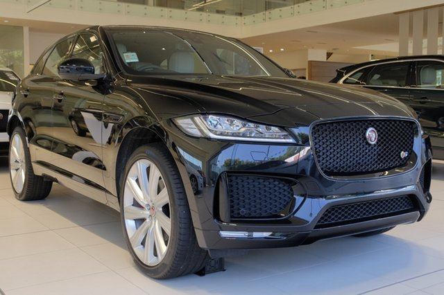 Demonstrator, Demo, Near New Jaguar F-PACE 35t AWD S, Newstead, 2017 Jaguar F-PACE 35t AWD S Wagon