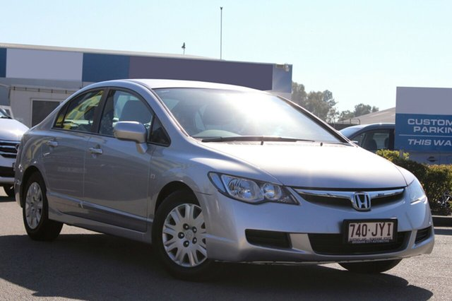 Used Honda Civic VTi, Bowen Hills, 2007 Honda Civic VTi Sedan