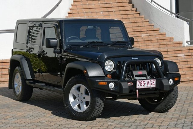 Discounted Used Jeep Wrangler Unlimited Sport, Southport, 2010 Jeep Wrangler Unlimited Sport Softtop