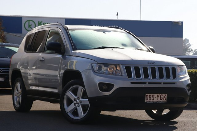 Used Jeep Compass Limited CVT Auto Stick, Bowen Hills, 2012 Jeep Compass Limited CVT Auto Stick Wagon