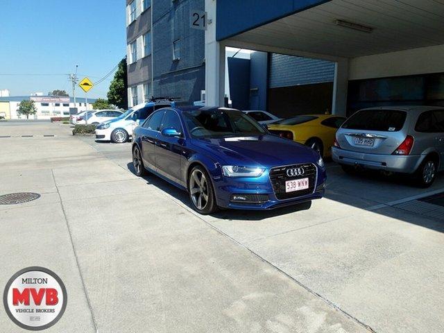 Used Audi A4 2.0 TFSI Quattro, Eagle Farm, 2013 Audi A4 2.0 TFSI Quattro Sedan