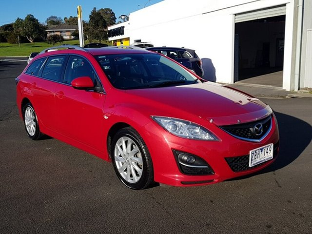 Used Mazda 6 Touring SKYACTIV-Drive, Warrnambool East, 2012 Mazda 6 Touring SKYACTIV-Drive Wagon