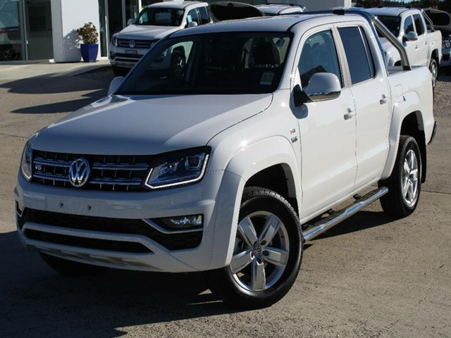 Demonstrator, Demo, Near New Volkswagen Amarok V6 TDI 550 Highline, Southport, 2018 Volkswagen Amarok V6 TDI 550 Highline Dual Cab Utility