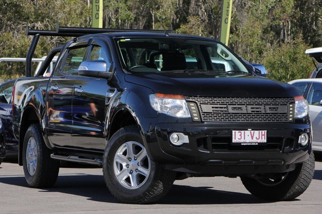 Used Ford Ranger XLT Double Cab, Caloundra, 2014 Ford Ranger XLT Double Cab Utility