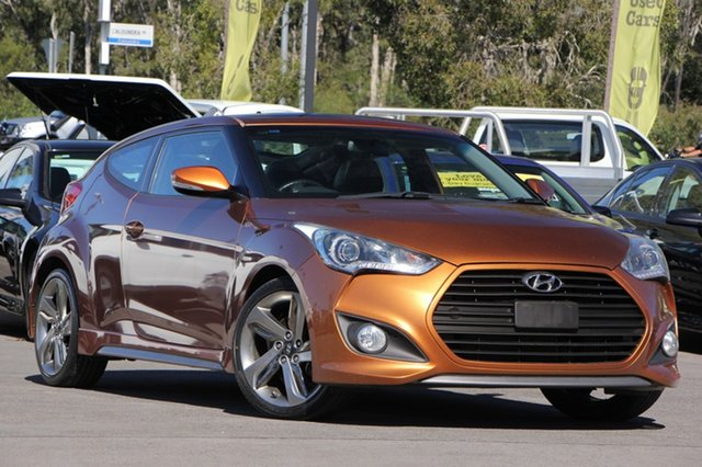 Discounted Used Hyundai Veloster SR Coupe Turbo, Caloundra, 2012 Hyundai Veloster SR Coupe Turbo Hatchback