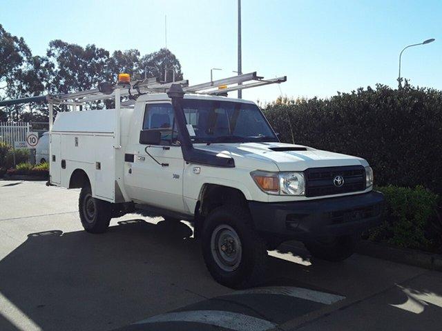 Used Toyota Landcruiser Workmate, Acacia Ridge, 2013 Toyota Landcruiser Workmate VDJ79R MY13 Cab Chassis