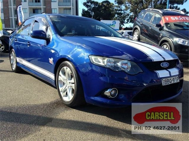 Used Ford Falcon XR6, Campbelltown, 2008 Ford Falcon XR6 Sedan