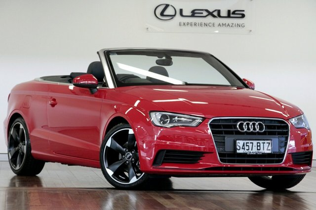Used Audi A3 Attraction S tronic, Adelaide, 2014 Audi A3 Attraction S tronic Cabriolet