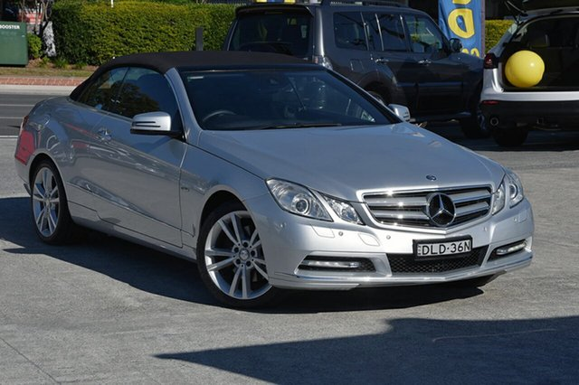 Used Mercedes-Benz E350 BlueEFFICIENCY 7G-Tronic + Avantgarde, Southport, 2011 Mercedes-Benz E350 BlueEFFICIENCY 7G-Tronic + Avantgarde Cabriolet