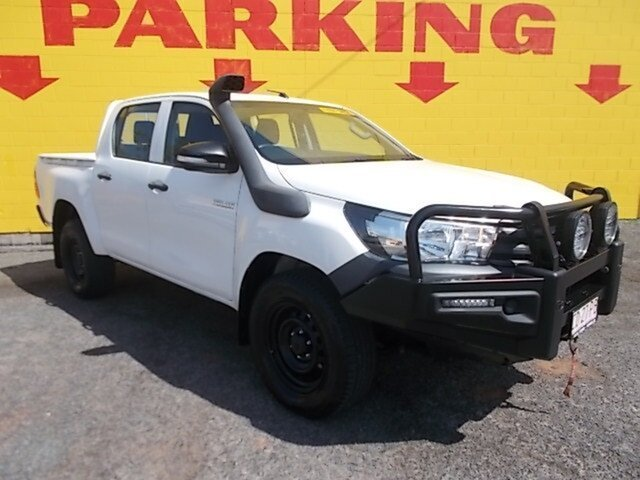 Used Toyota Hilux Workmate Double Cab, Winnellie, 2015 Toyota Hilux Workmate Double Cab Utility