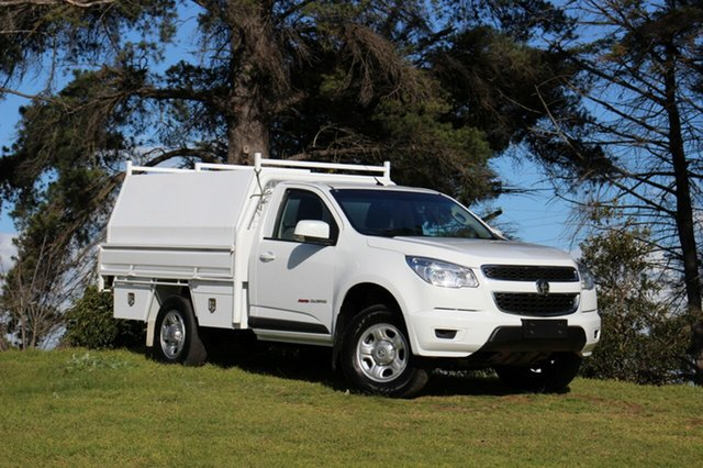 Used Holden Colorado LS, Officer, 2015 Holden Colorado LS Cab Chassis