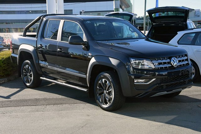 Demonstrator, Demo, Near New Volkswagen Amarok TDI550 4MOTION Perm Dark Label, Southport, 2018 Volkswagen Amarok TDI550 4MOTION Perm Dark Label Utility