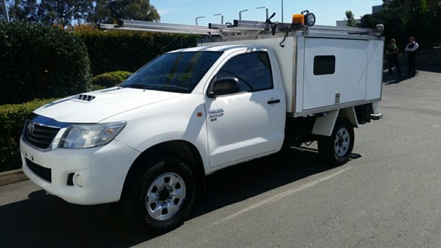 Used Toyota Hilux SR, Acacia Ridge, 2012 Toyota Hilux SR KUN26R MY12 Cab Chassis
