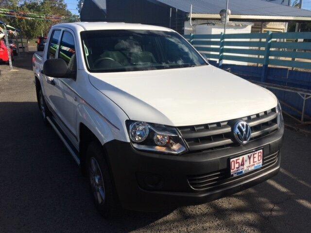 Used Volkswagen Amarok TDI400 (4x2), North Rockhampton, 2013 Volkswagen Amarok TDI400 (4x2) Dual Cab Utility
