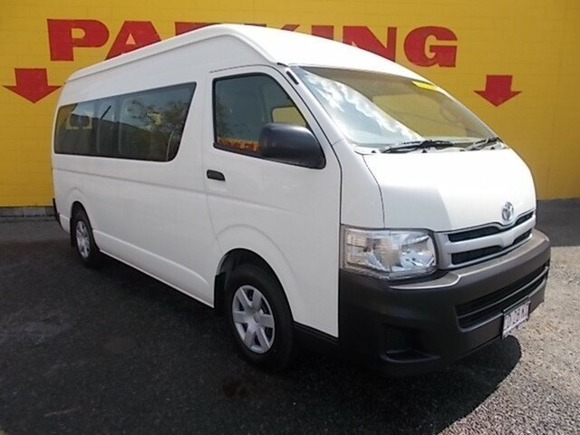 Used Toyota Hiace Commuter High Roof Super LWB, Winnellie, 2012 Toyota Hiace Commuter High Roof Super LWB Bus