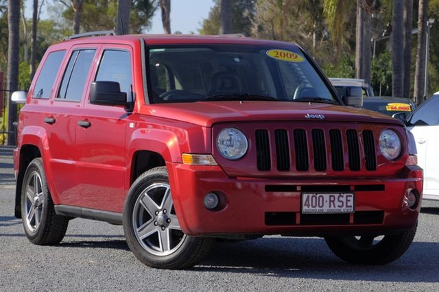 Used Jeep Patriot Sport CVT Auto Stick, Beaudesert, 2009 Jeep Patriot Sport CVT Auto Stick Wagon