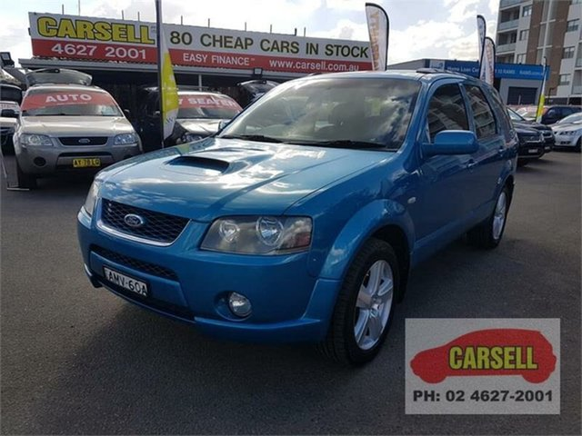 Used Ford Territory Turbo, Campbelltown, 2007 Ford Territory Turbo Wagon