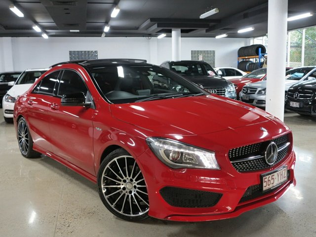 Used Mercedes-Benz CLA250 Sport DCT 4MATIC, Albion, 2015 Mercedes-Benz CLA250 Sport DCT 4MATIC Coupe