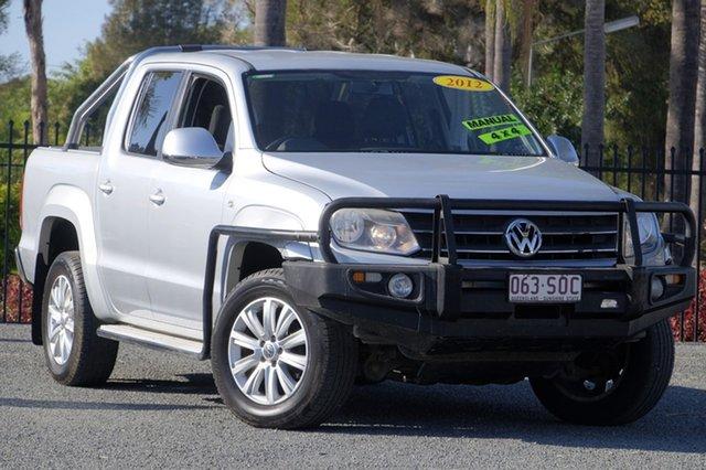 Used Volkswagen Amarok TDI400 4Mot, Beaudesert, 2012 Volkswagen Amarok TDI400 4Mot Utility