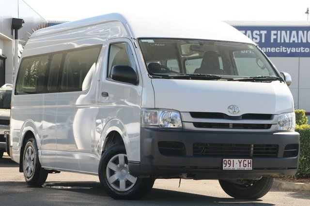 Used Toyota Hiace Commuter High Roof Super LWB, Bowen Hills, 2008 Toyota Hiace Commuter High Roof Super LWB Bus