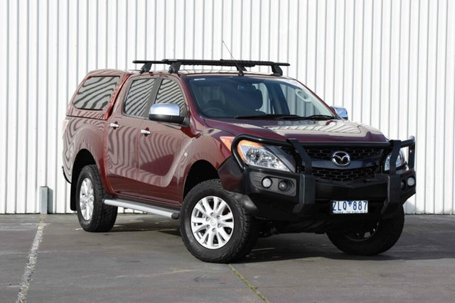 Used Mazda BT-50 XTR (4x4), Sebastopol, 2012 Mazda BT-50 XTR (4x4) Dual Cab Utility