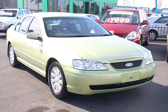Used Ford Falcon with RWC & REG, Cheltenham, 2004 Ford Falcon with RWC & REG Sedan